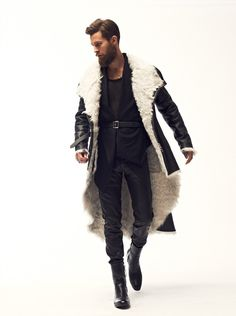 Back To Medieval Times With Dominic Louis Fall/Winter 2013 Collection