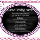Guided Reading Bundle  Everything you need to get started & organized! Some of my favorite tools:)  Included: 5 anecdotal note taking pages 1 a...