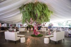 """527 Likes, 6 Comments - Rayce PR and Marketing (@raycepr) on Instagram: """"A gorgeous lounge setting at @calamigos_ranch featuring a beautiful tree statement and lighting by…"""""""