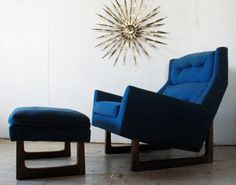 Reserved For Oliver Mid Century Danish Modern Sculptural Lounge Chair…