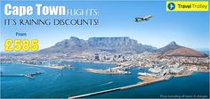 Travel Trolley introduces exclusive deals and offers on Cape Town flights across all airlines. Hurry, book before the offer runs out