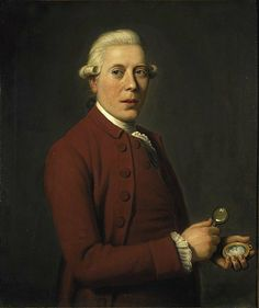 James Tassie, (1735-1799), c.1781, Sculptor and gem engraver, by David Allan. Tassie invented a new medium, vitreous glass paste, which he used for making small portrait medallions and for making reproductions of antique gems and cameos. His products were sought by collectors all of the world, with Catherine the Great his most important patron.