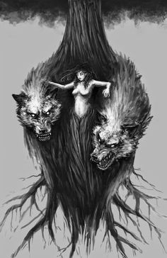 There's someone in the wolf Neue Tattoos, Body Art Tattoos, Der Steppenwolf, Tattoo Painting, Werewolf Art, Werewolf Tattoo, Wolf Love, Bad Wolf, Wolf Spirit
