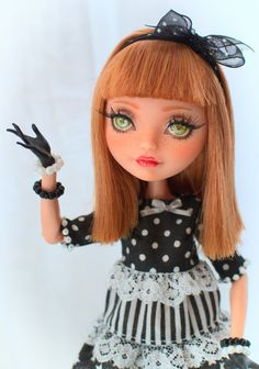 OOAK - Ever After High - Madeline Hatter  - Repaint