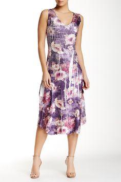 V-Neck Dress (Petite)  by KOMAROV on @nordstrom_rack