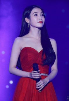 """ in red ❤️❤️❤️"" Korean Model, Korean Singer, Korean Actresses, Korean Actors, Asian Celebrities, Iu Fashion, Beautiful Asian Girls, Ulzzang Girl, Snsd"