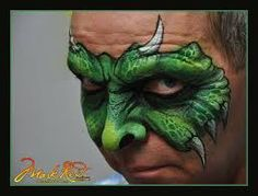 Image result for mark reid face painting