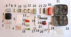 Making a 32-Piece Every Day Carry (EDC) SurvivalKit