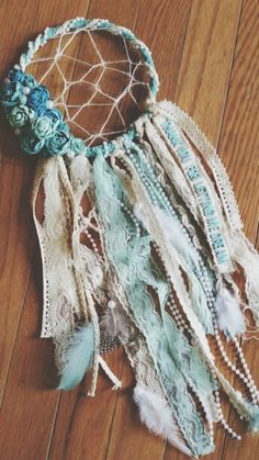 Homemade dream catcher ♡