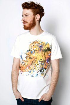 Pan Kleks Świerzy męski t-shirt | Pan tu nie stał