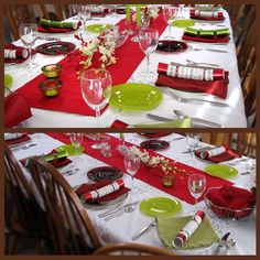 Christmas dishes holiday tables and christmas table decorations