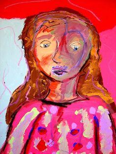 Matisse Inspired Fauvist Portrait - 3rd grade