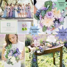Light Blue, Lavender, and Green - Spring 2014 Spring Wedding Colors, Autumn Wedding, Blue Wedding, Wedding Flowers, Wedding Stuff, Wedding Ideas, Pale Yellow Weddings, Theme Color, Lavender Blue