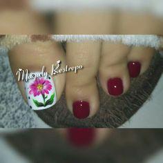 FLOR Nail Art, Nails, Beauty, Work Nails, Flower, Toe Nail Art, Pedicures, Feet Nails, Fingernail Designs