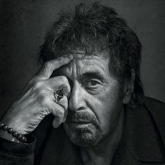 New Yorker profiles Al Pacino | Fabulous lighting and texture in this photograph, capturing a mature man without airbrushing away his character.