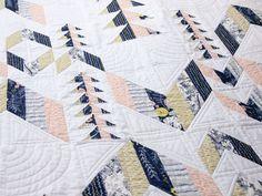 Caitlin's Desert Arrows Quilt | Fancy Tiger Crafts