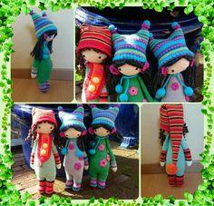 doll mod made by Marlou M. / based on the lalylala crochet patterns