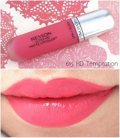 """Revlon Ultra HD Matte Lipcolor in """"Passion"""", """"Seduction"""" & """"Temptation"""": Lip Gloss Colors, Lipstick Colors, Lip Colors, Beauty Make-up, Beauty Hacks, Best Lipsticks, Too Faced, Lip Makeup, Revlon Makeup"""