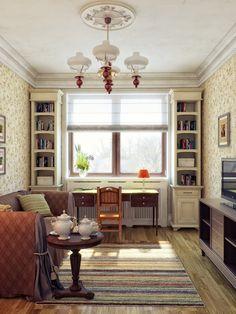 Cream Living Room Decor