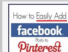 Thank goodness!  Finally can pin things from Facebook!!! http://www.ohsopinteresting.com/how-to-easily-add-facebook-posts-to-pinterest/