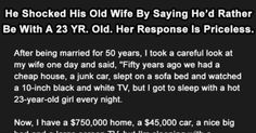 Woman Gives Best Reply Ever To Husband's Wish Of Remarrying. This Is Gold. - Likes Funny People, Good People, Best Funny Pictures, Funny Images, Ex Husband Quotes, Funny Wishes, Nothing Left To Say, Old Wife, Everything Funny