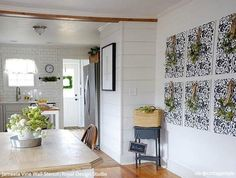 Find Insta-Inspiration Everywhere: Wall to Floor Stencil Projects   Royal Design Studio Stencils