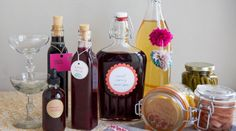 How to make preserves, how to make infused vodka, how to make infused bourbon, how to make coffee liqueur, how to make bitters, how to make a shrub - Creativebug