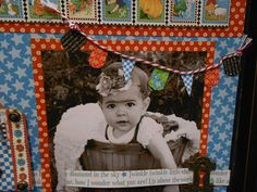 6 tips for Summer Scrapbooking: Use Pennants and Banners to Embellish for Summer