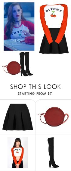 """Cheryl Blossom - Riverdale"" by shadyannon ❤ liked on Polyvore featuring T By Alexander Wang and Diane Von Furstenberg"