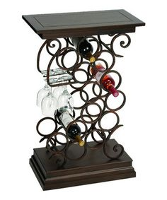 Oval Lattice Wine Holder