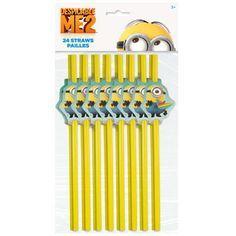 Despicable Me 2 Straws