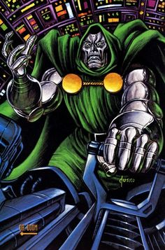 1992 Marvel masterpieces common card Doctor Doom Photo: 1992 Marvel Masterpiece Common Cards See title for description This entire card series (inc. Hq Marvel, Marvel Comics Art, Marvel Heroes, Comic Books Art, Comic Art, Book Art, Doctor Doom, Heavy Metal, Marvel Masterworks