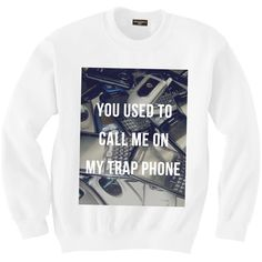 Trap Phone ($58) ❤ liked on Polyvore featuring shirts and tops