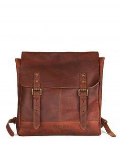 DAYPAK - Leather Rucksack