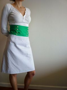 Edwardian-inspired DIY dress.