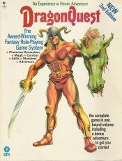 DragonQuest - The Fantasy Role Playing Game by SPI - Wayne's Books RPG Reference
