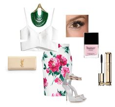 DOLCE by pinkcrema on Polyvore featuring polyvore, fashion, style, H&M, Dolce&Gabbana, Giuseppe Zanotti, Yves Saint Laurent, Rosantica, Guerlain, Butter London and Minka