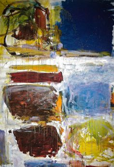 Joan Mitchell - Blue Territory, 1972 at Albright-Knox Art Gallery Buffalo NY (by mbell1975)
