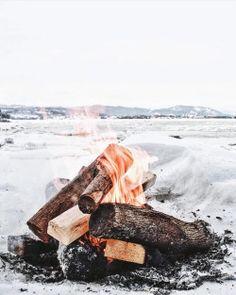 upknorth:  Winter priorities.                #getoutdoors #upknorth Cold days spent fireside. Awesome shot by @alexesav