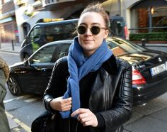 The Brooklyn star was spotted on Drury Street today, just a day after she picked up a Golden Globe nomination.