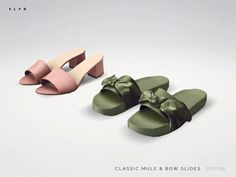"Decor Shoes "" Download: Marais Classic Mule 