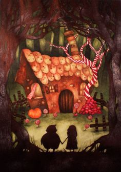 Hansel and Gretel by KaterinaChadoulou.deviantart.com on @deviantART