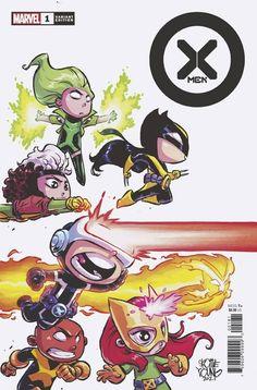 Marvel Comics, Marvel Kids, Marvel Comic Books, Comic Books Art, Book Art, Skottie Young, Jean Grey, Rogue And Wolverine, Deadpool