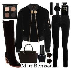 """polyvore x matt bernson"" by j-n-a ❤ liked on Polyvore featuring Matt Bernson, Givenchy, J Brand, Michael Kors, OPI, Erica Lyons, MAC Cosmetics, Chanel, Lancôme and CLUSE"