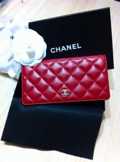 chanel wallet  @Christian Wilsson Wilsson Wilsson Wilsson Wilsson Hopps  (in caviar leather- red or black)