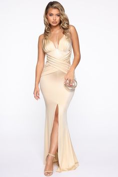Well Off Satin Maxi Dress – Gold – Daily Fashion Maxi Gowns, Satin Dresses, Sexy Dresses, Nice Dresses, Long Dresses, Tight Dresses, Formal Dresses, Prom Dresses, Sequin Maxi
