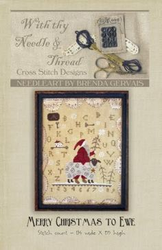 With thy needle and thread by Brenda Gervais - De mère en fille