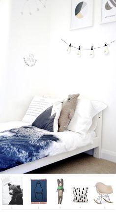 Get the look: Copia el look de este dormitorio de estilo escandinavo. #kidsrooms #kidsdecor #kidsbedrooms #kidsbed #dormitorioinfantil #habitacioninfantil #estiloescandinavo