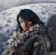 By Ai Xuan. Tibet Girl