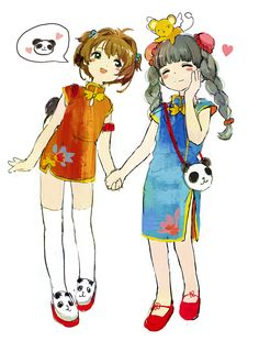 CCさくら さくらちゃんまとめ [7] Geeks, Cartoon Live, Tomoyo Sakura, Azumanga Daioh, Lovely Complex, Xxxholic, Card Captor, Nichijou, Drawings Of Friends